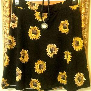 Sunflower skirt!